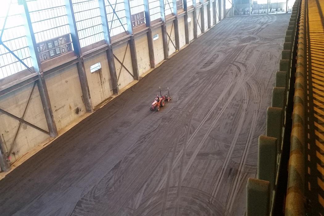 Large Commercial floor prep