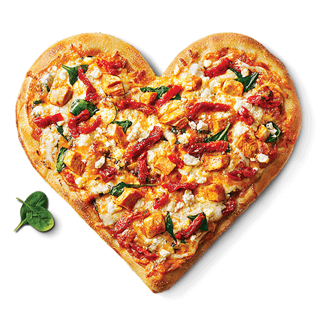 Pizza heart Image