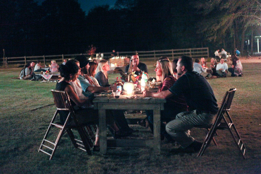 An InSpero Family Feast at the Salem farm. Photo by Charity Ponter
