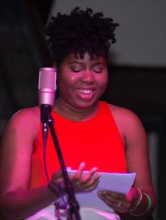 Poet Ashley Jones reading from her upcoming book,  Magic City Gospel