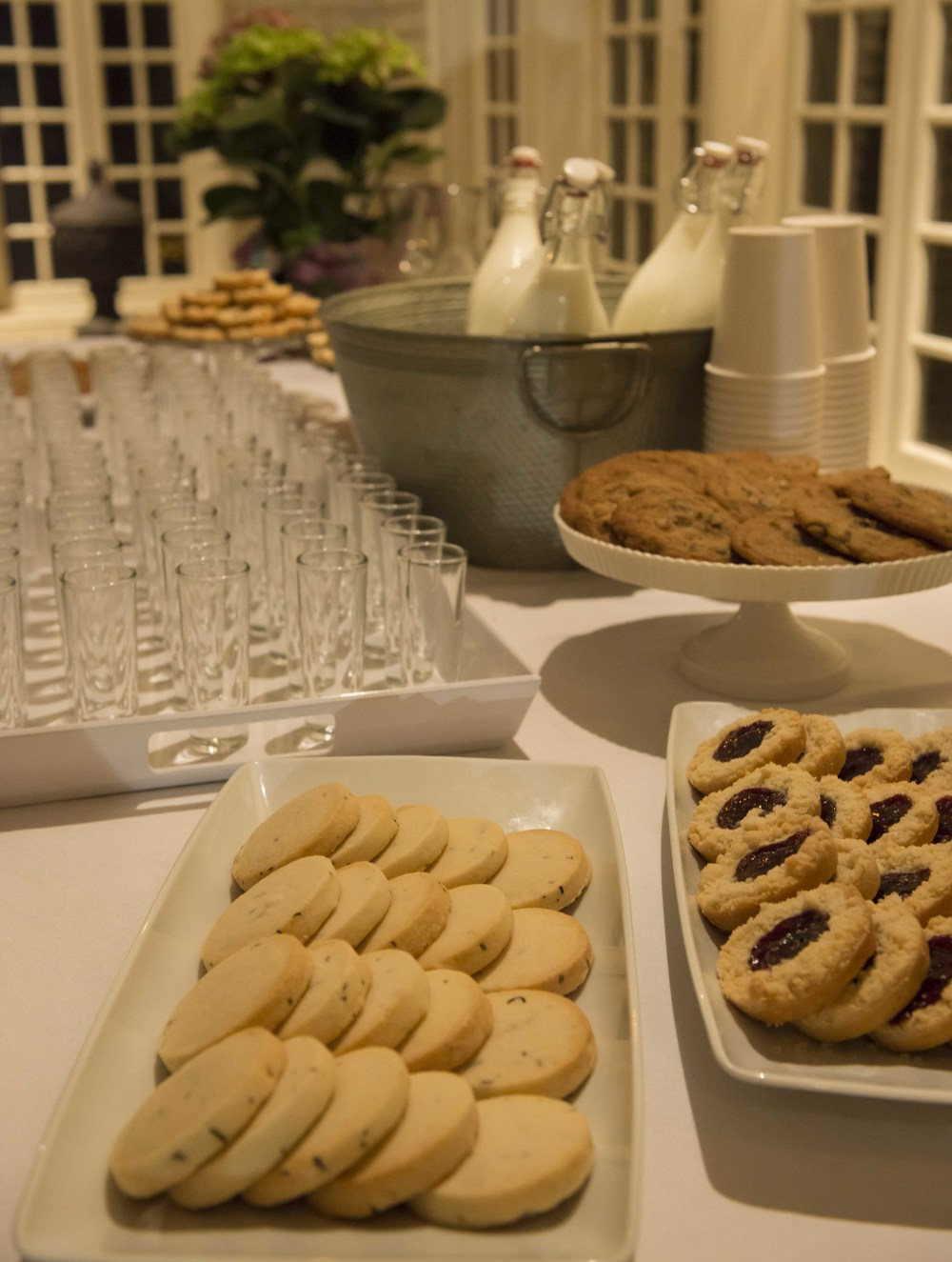 Baking Bandits  provided Milk and Cookie Happy Hour after the readings and songs.