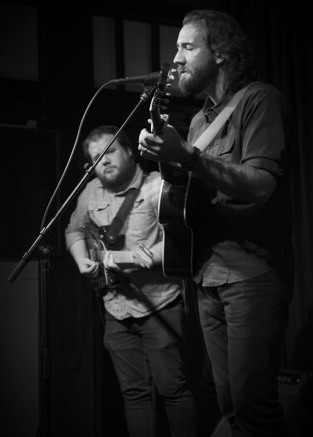 Joel Madison Blount (with Josh Vignuelle) sharing his original music