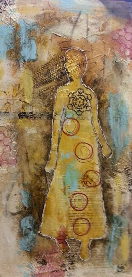 """Artist: Pam Truitt, """"She Is"""""""