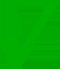 Green tick icon