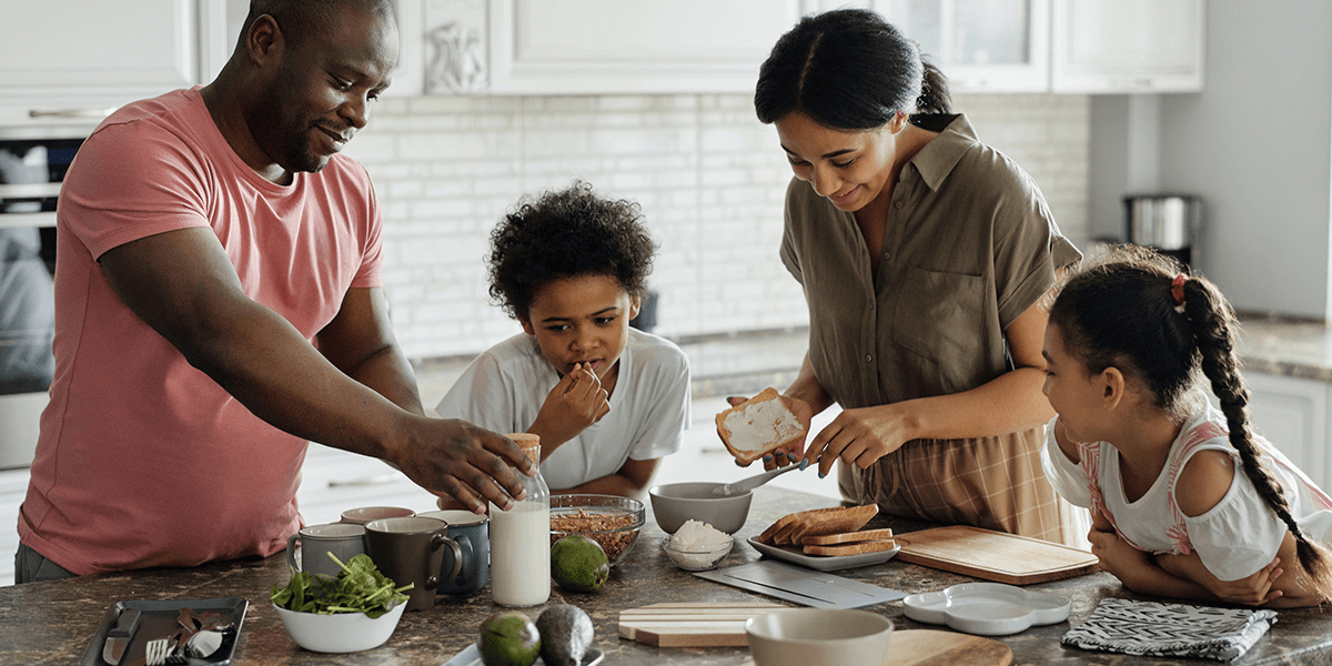 Let's get together: the benefits of building healthy habits with friends and family