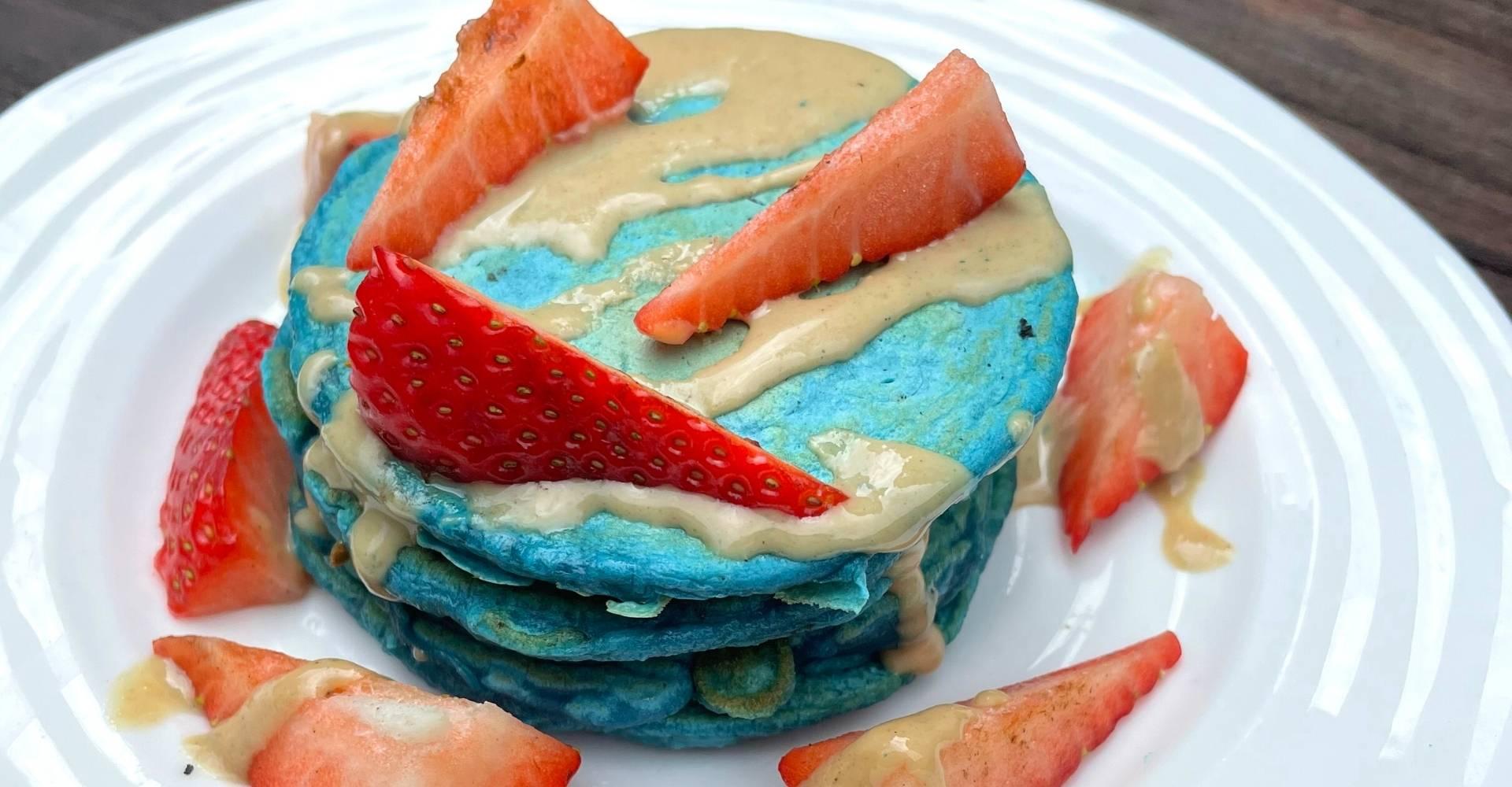 Kanchan's Healthy Cinnamon Pancakes