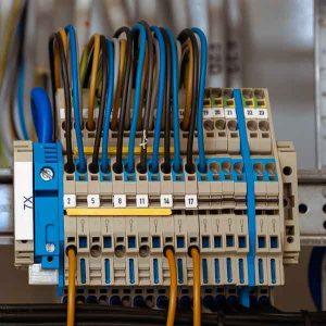 schakelblok elektrische bedrading
