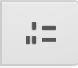 Nummerert liste ikon