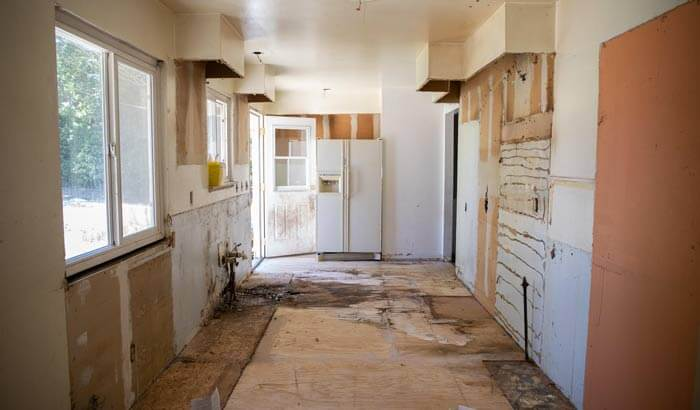 Ryan Cramer's broken down house