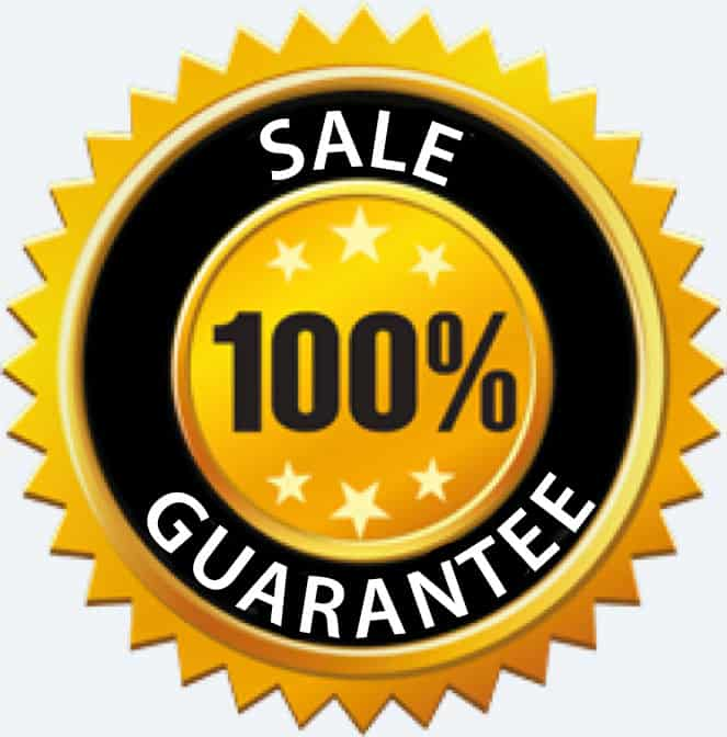 100% Close Guarantee badge