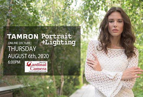 Portrait + Lightning Online Seminar