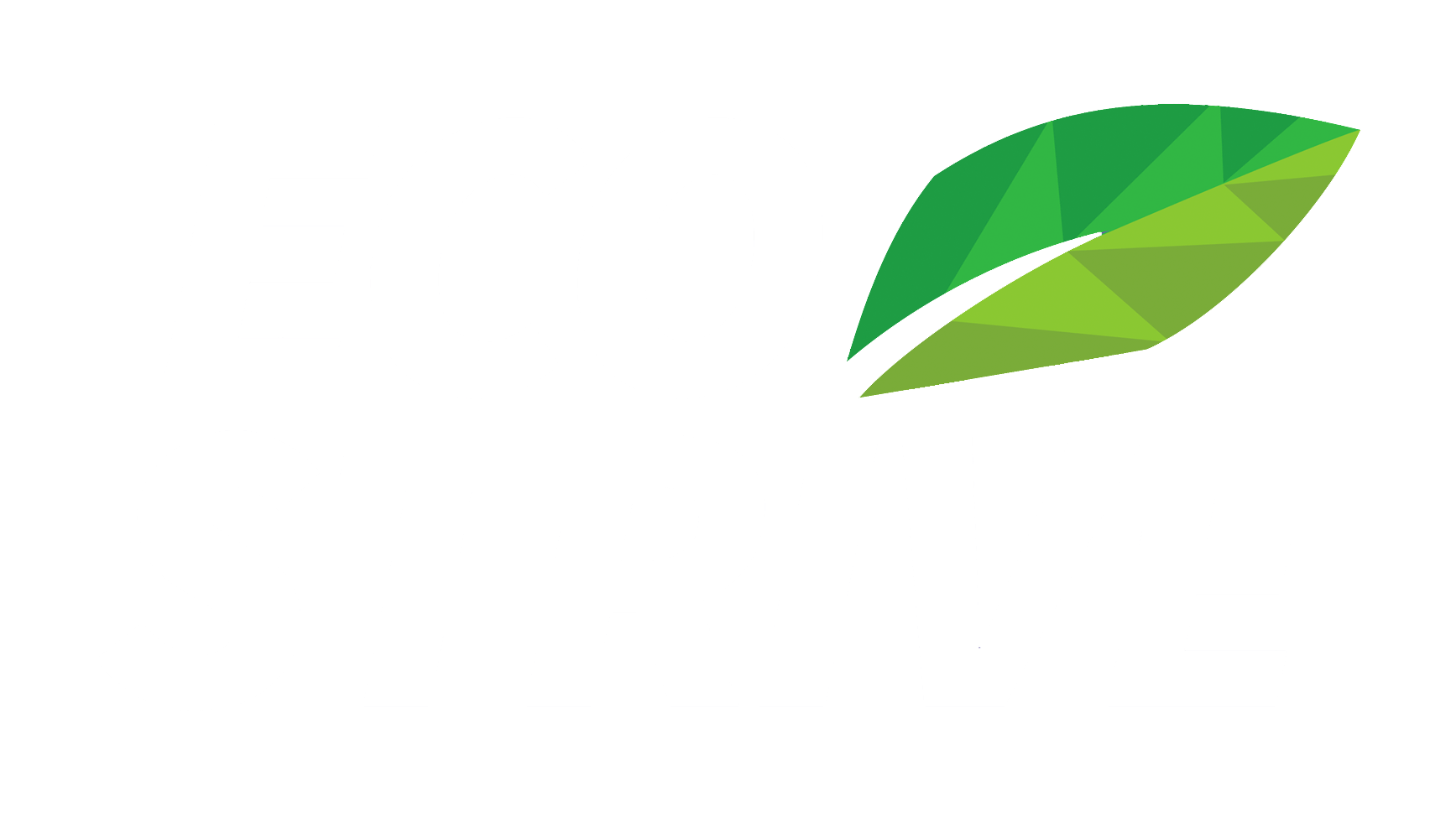 Eco Strive eco-friendly lawn care and landscaping company logo