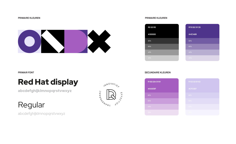 Design elementen voor DIQQ website