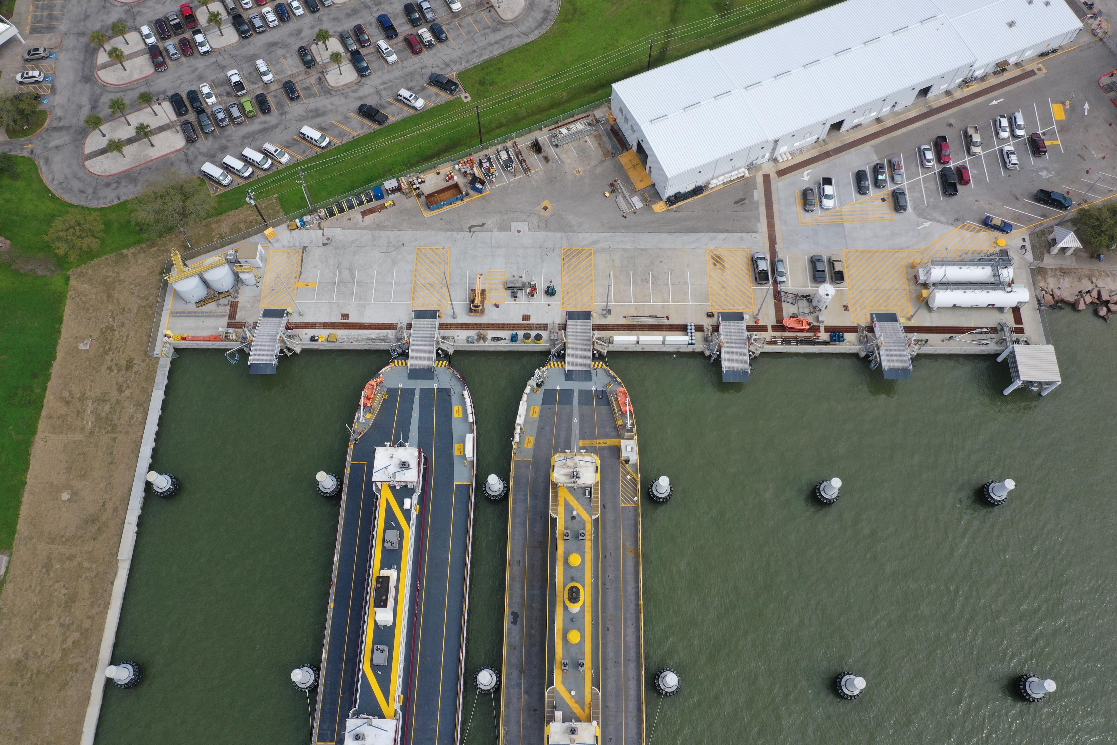 TxDOT Work Docks