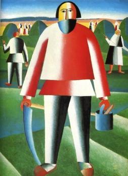Mower, 1930, Kazimir Malevich
