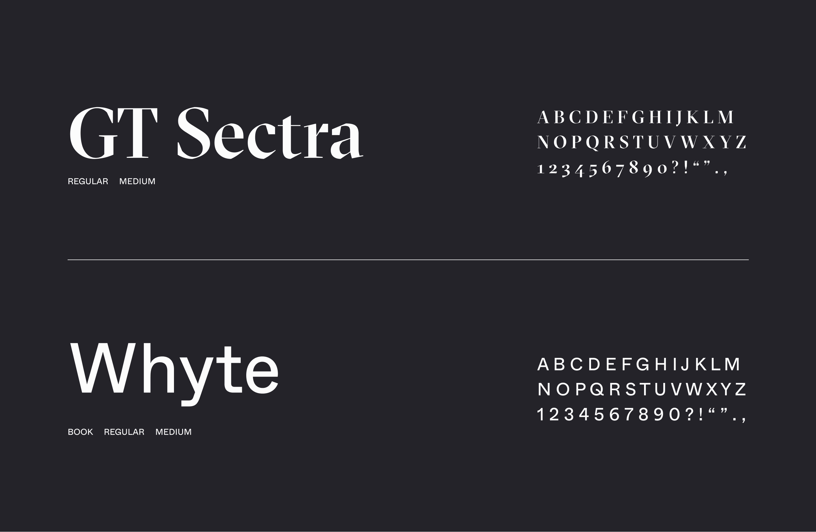 fonts used on Think32 website by Embacy