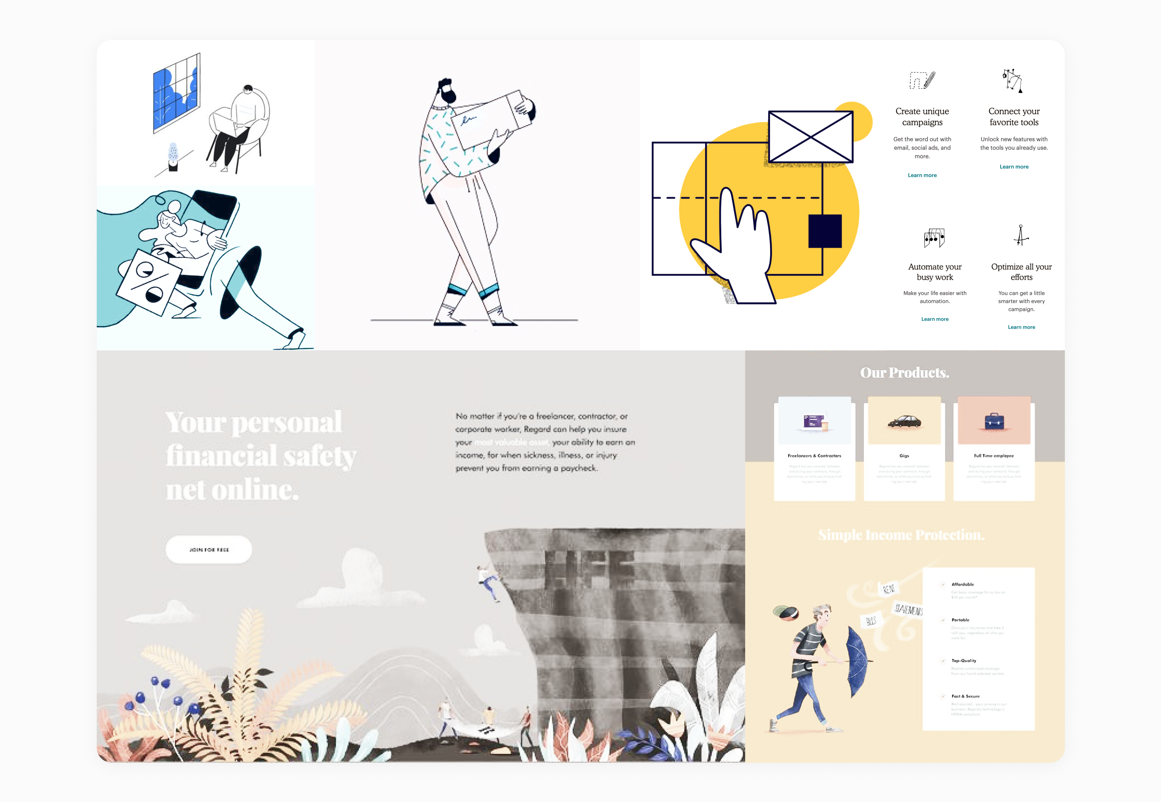 a concept for AUDT website by Embacy