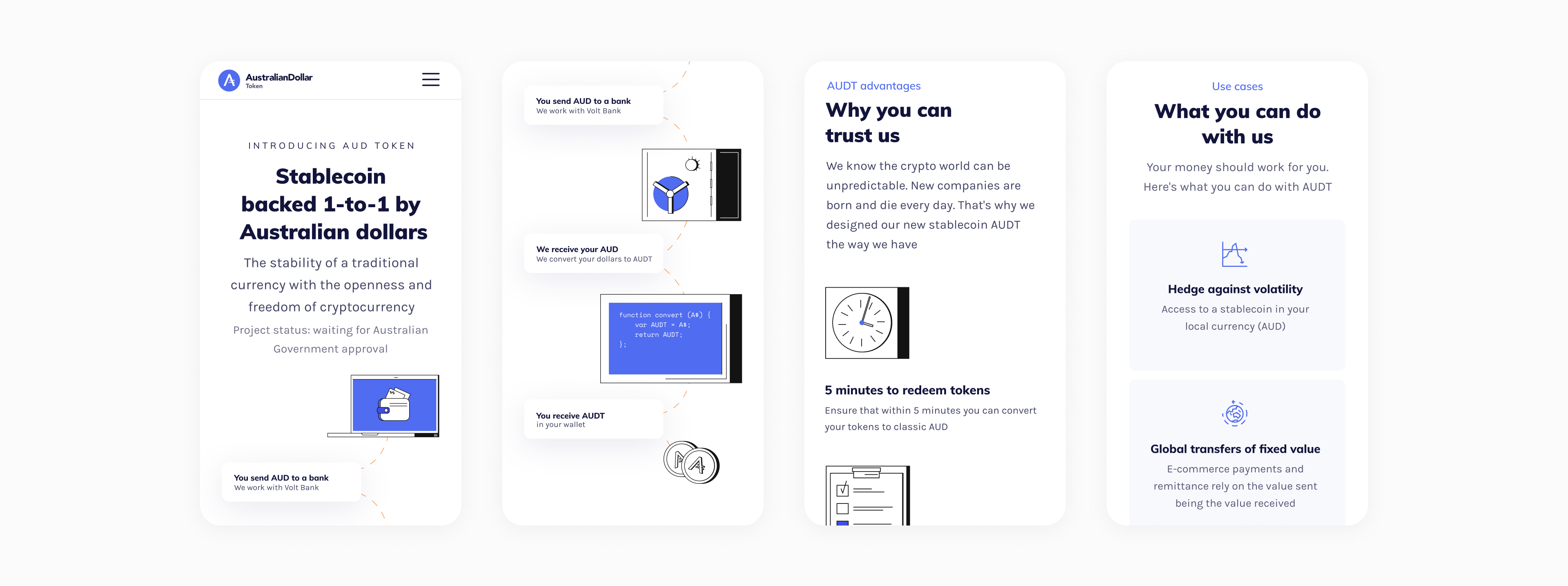 AUDT website for mobile by Embacy