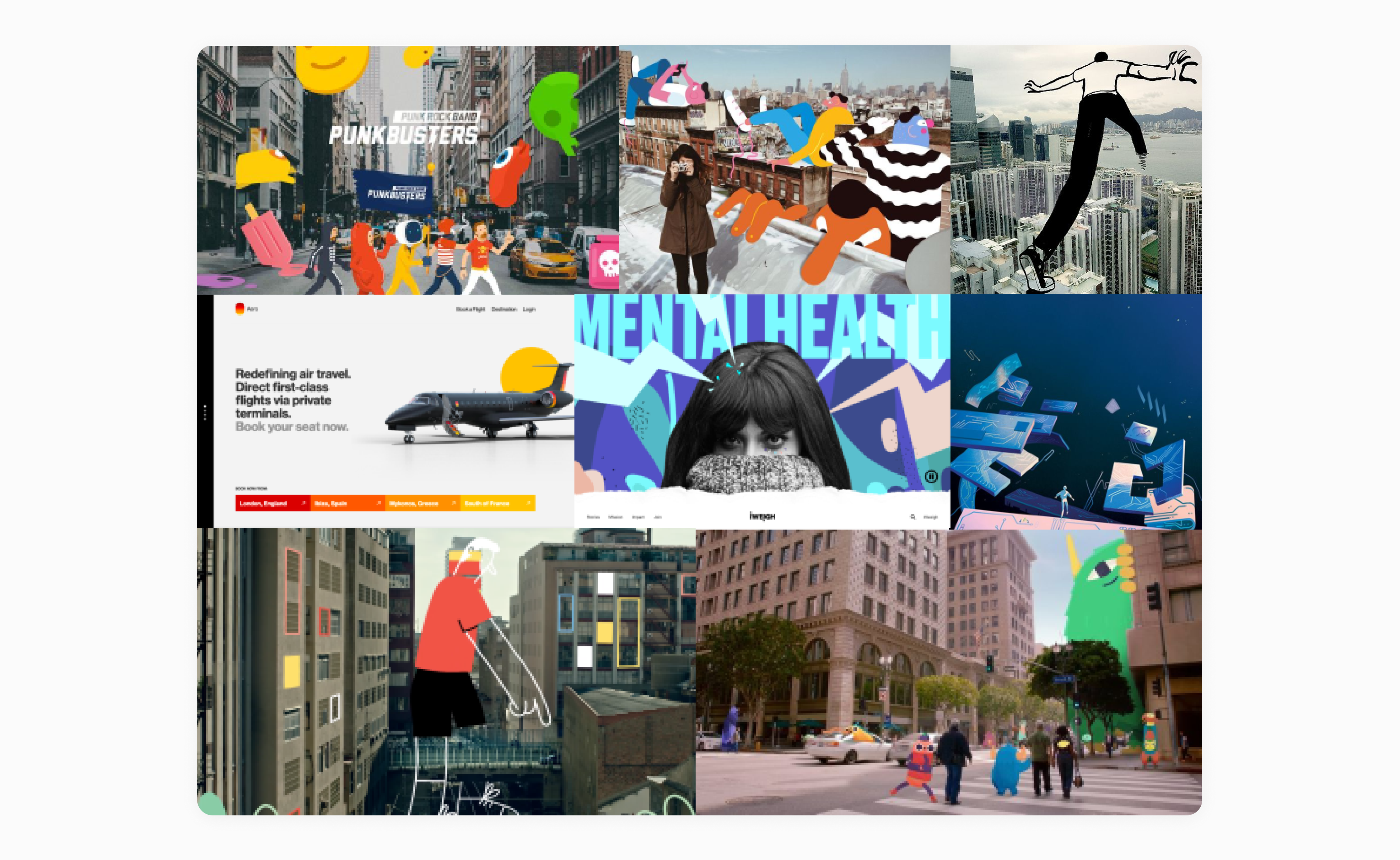 augmented reality website concept by embacy