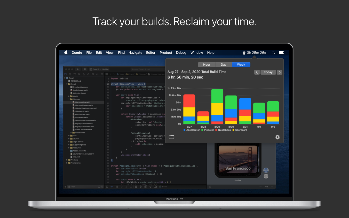 Lickability Releases Buildwatch for Xcode - Mac App to Track Build Times Image
