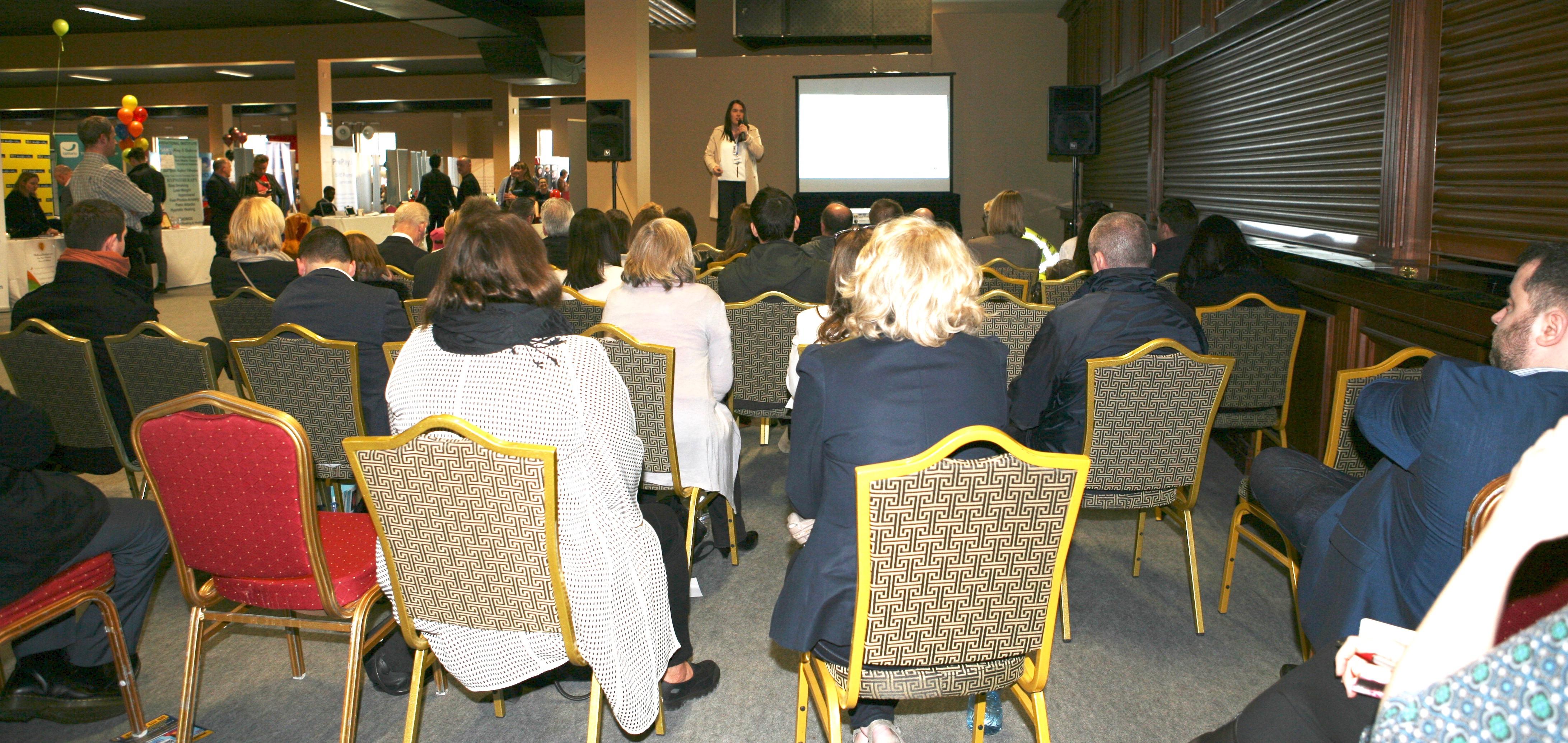 Speaking at BizExpo