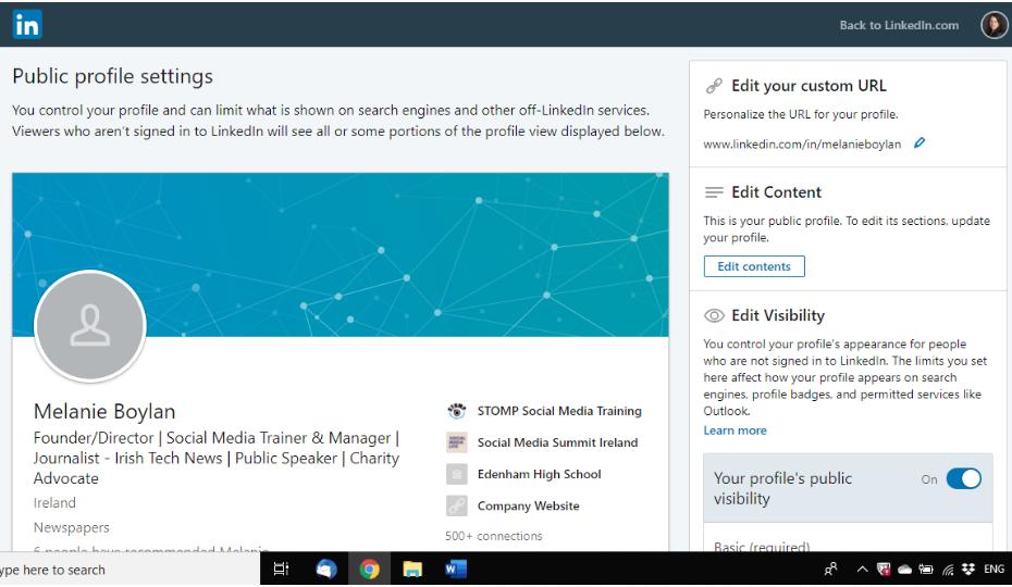 LinkedIn URL 2