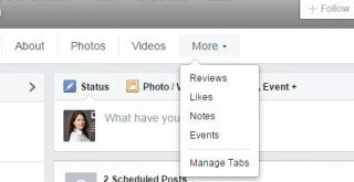 How to Manage Tabs on Facebook