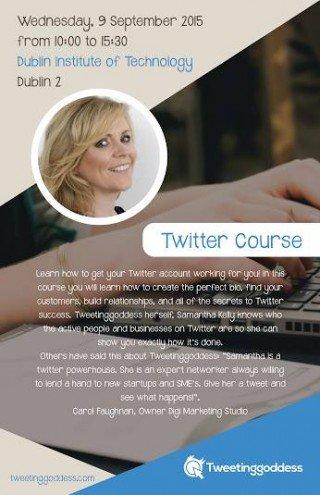 Samantha Kelly Tweetinggoddess Twitter Training