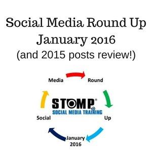 Social Media Round Up January 2016