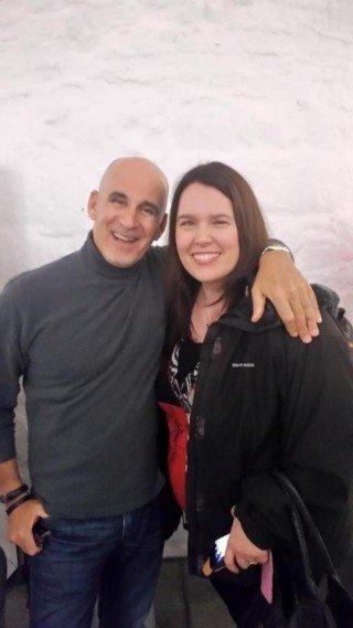 Ted Rubin and I