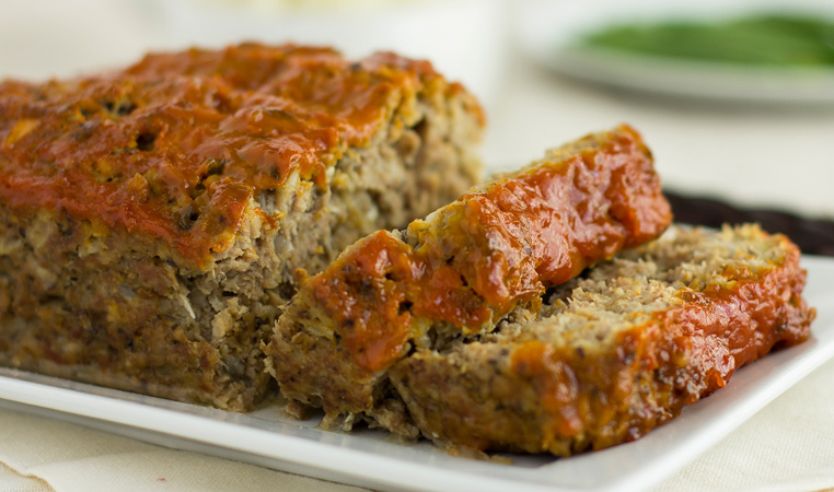 blended turkey meatloaf