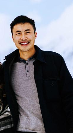 Portrait photo of Tai Liu- founder of Garage88