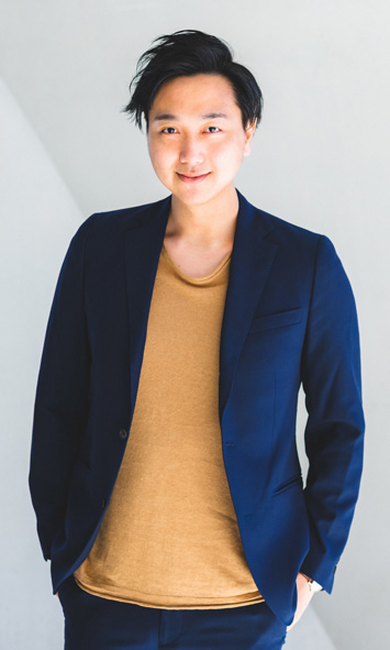 Portrait Shot of Yuu Shinozaki - lead designer
