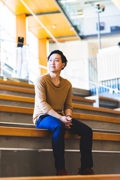 Heashot of Yuu Shinozaki - Founder and Lead Designer of yuuxDesign