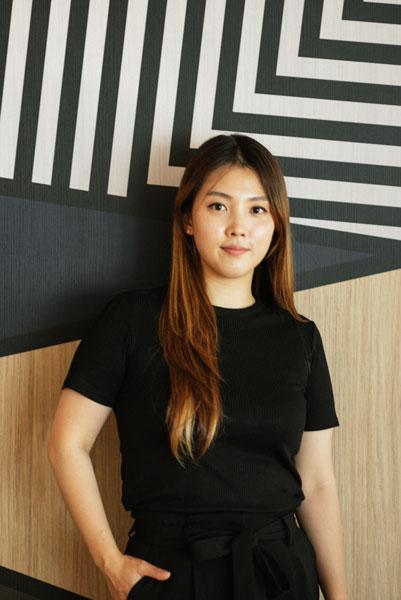 Portrait Shot of Sunny Song - Graphic designer