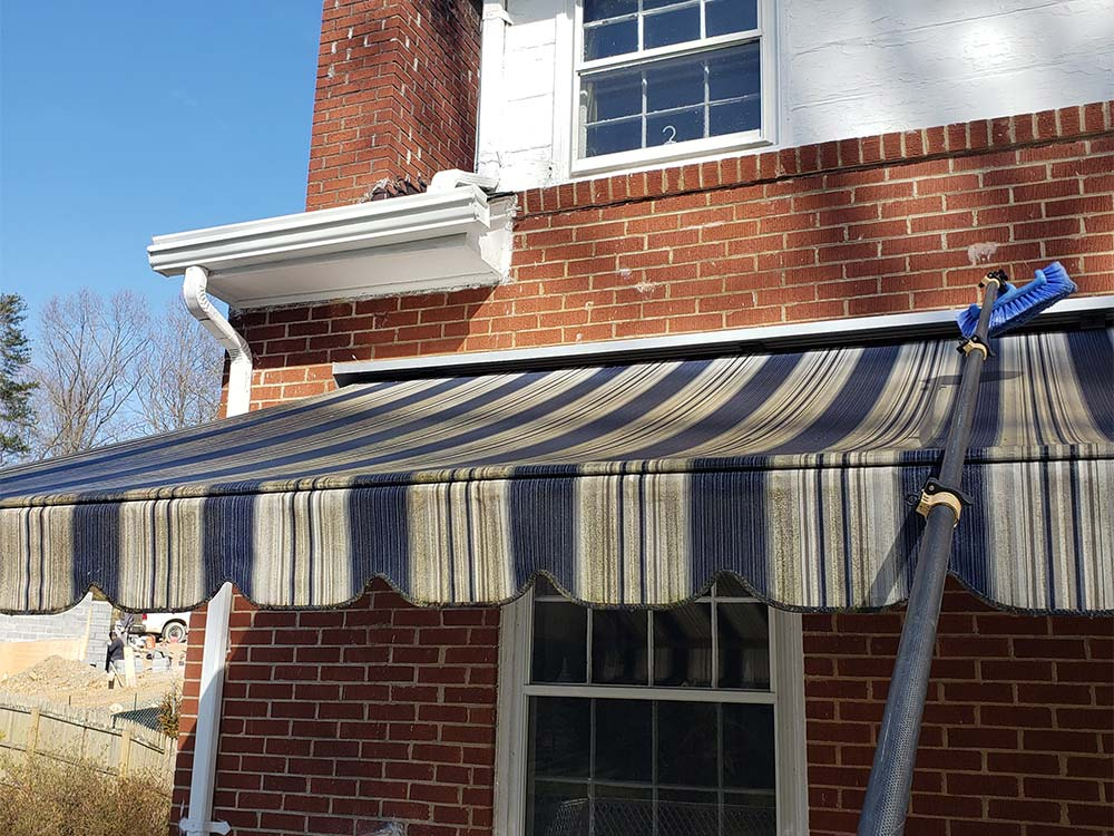 Awning Cleaning in Columbia, MD