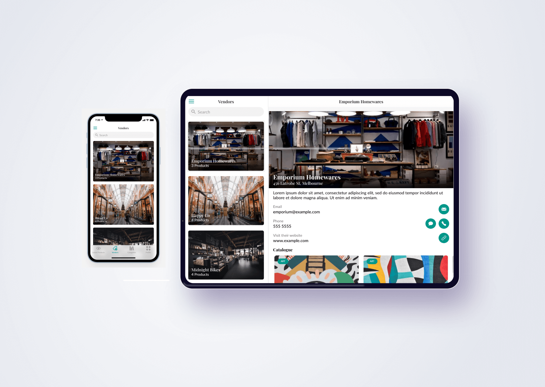 Our app development work