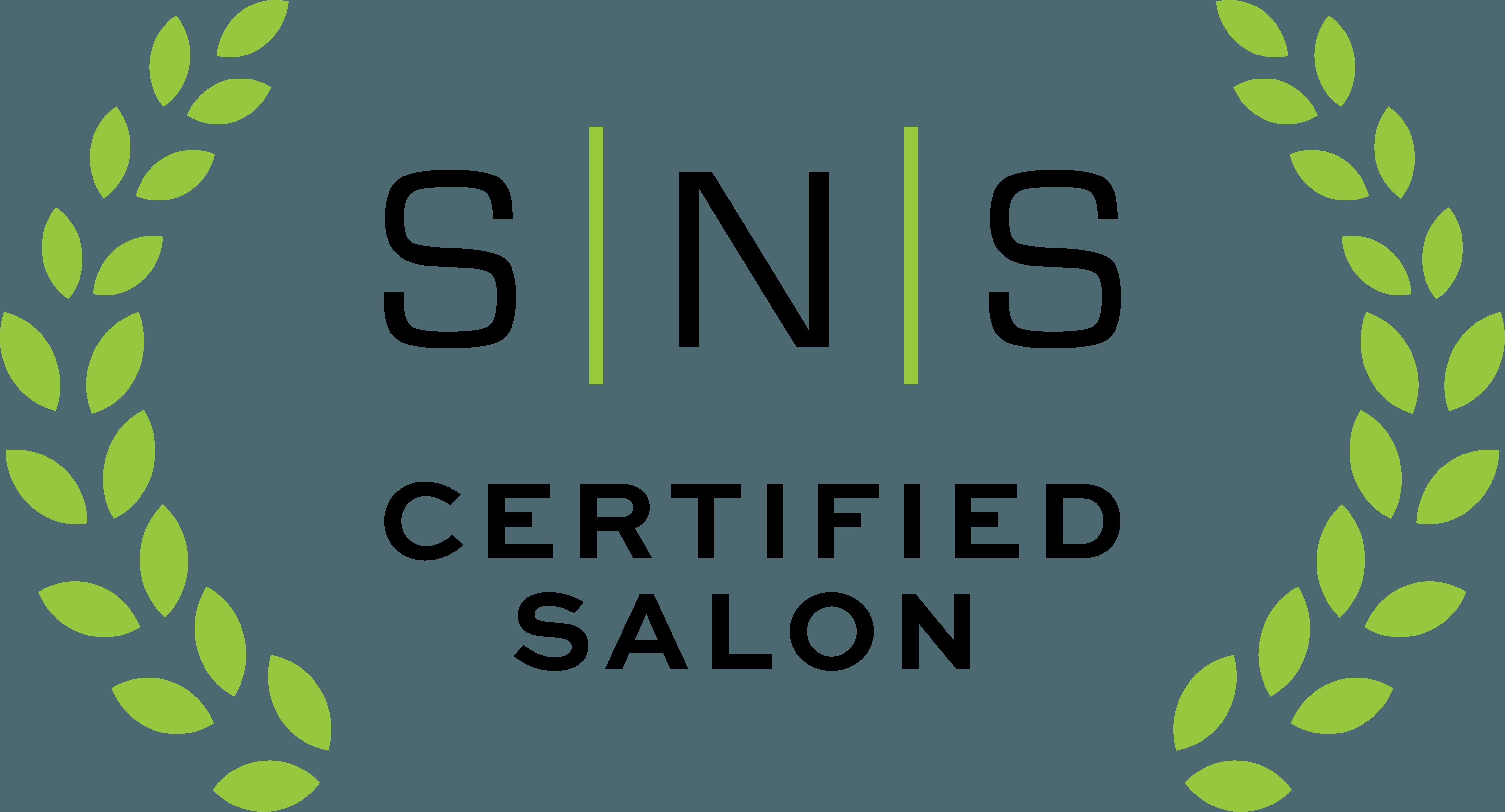 SNS Certified Salon Badge Trust Signal