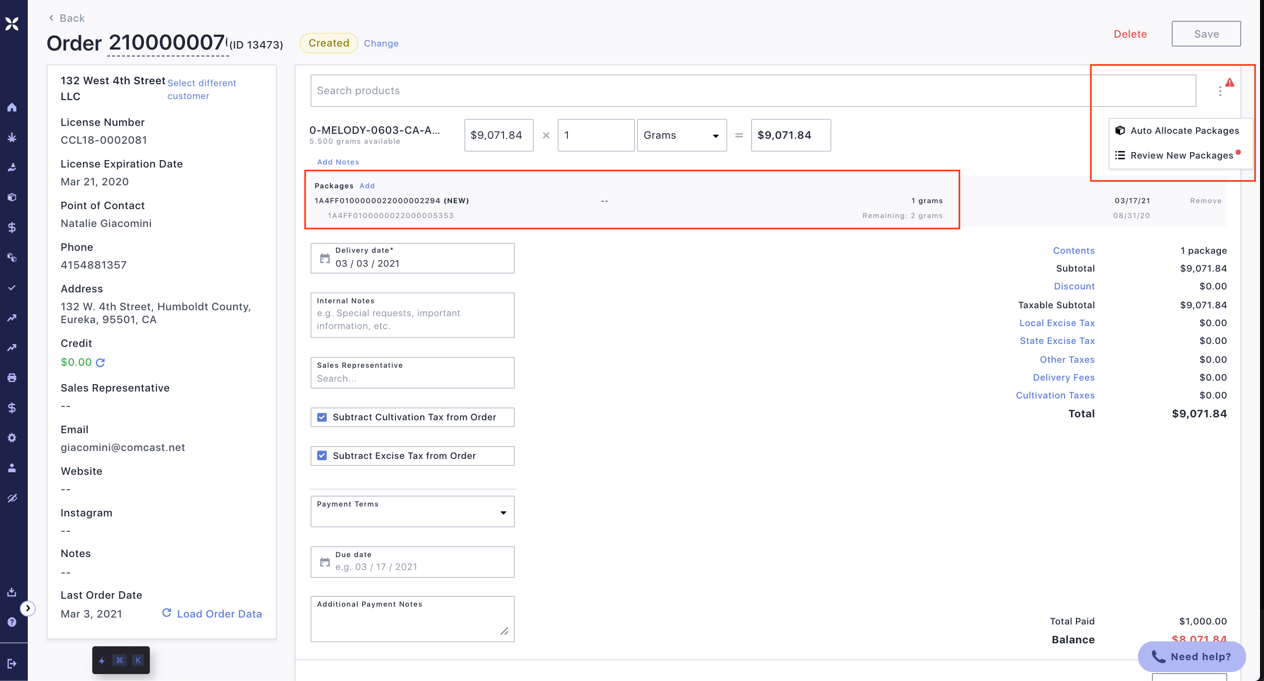 Canix product updates