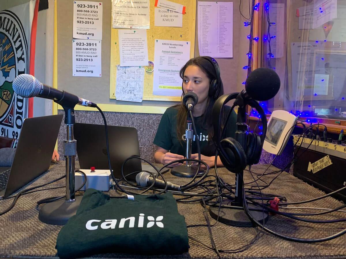 KMUD radio interview