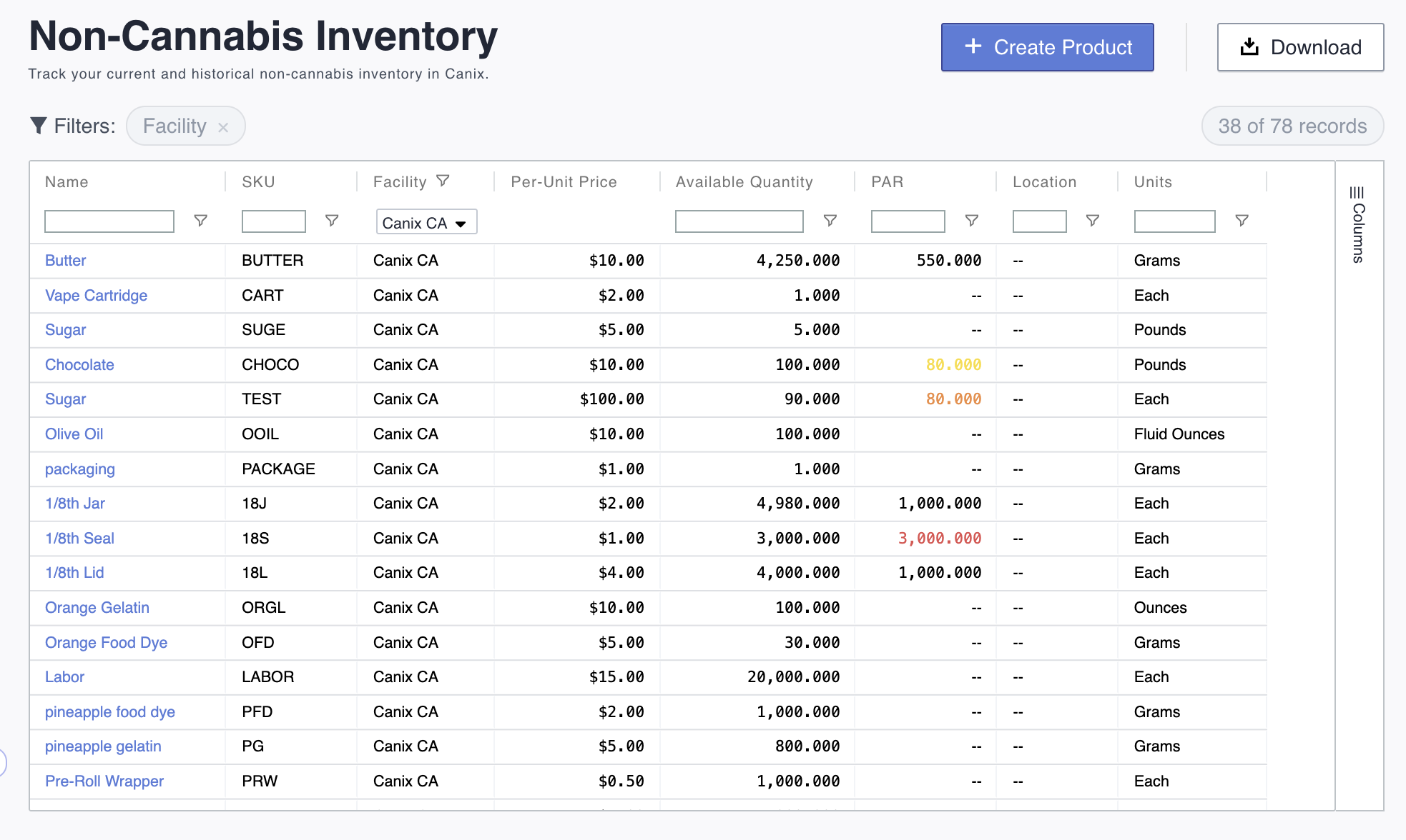 canix software inventory