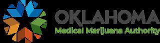 Oklahoma medical marijuana authority logo