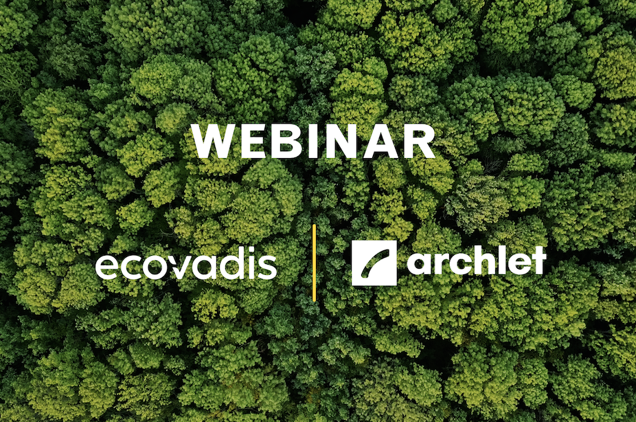 Webinar with EcoVadis - Make sustainability actionable in sourcing
