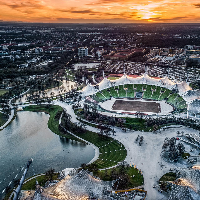 Olympiazentrum 1972