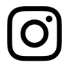 Instagram black logo
