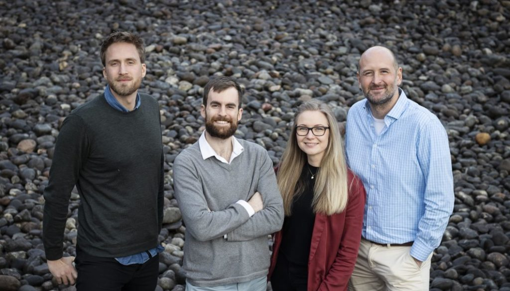 The EMerald Geomodelling team at StartupLab in Oslo