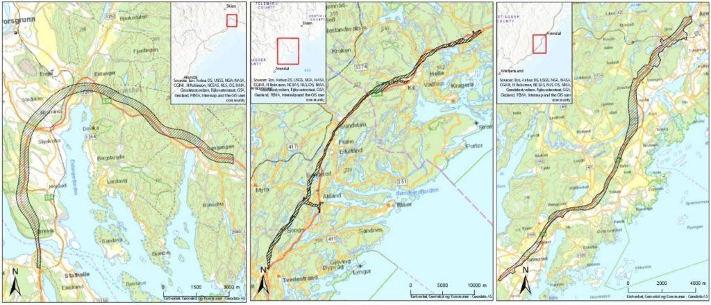 Geoscanning the new E18 highway for Nye Veier