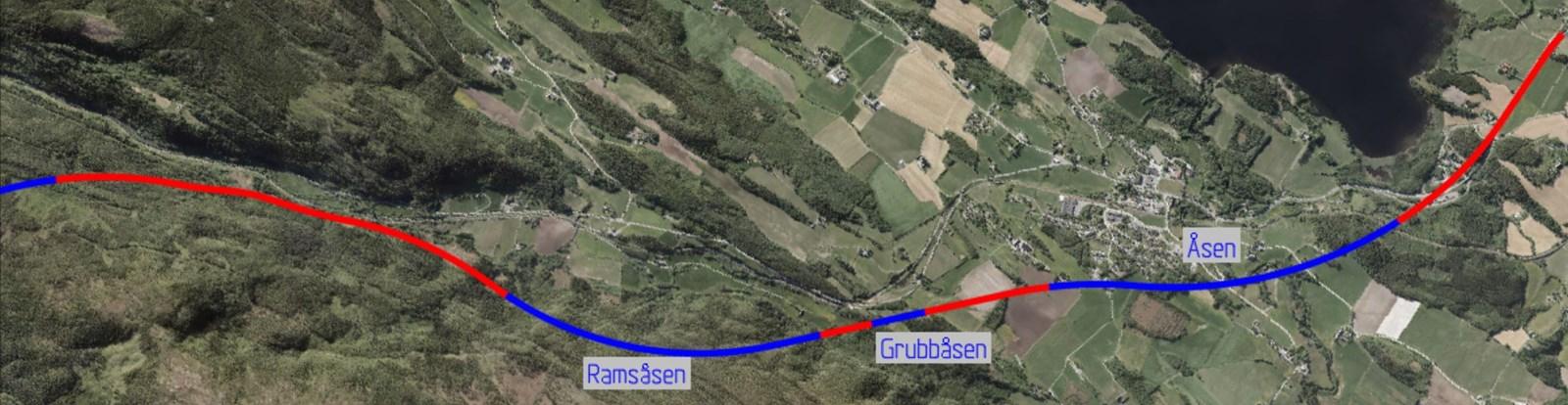 Ligger an til mer tunnel i Åsen