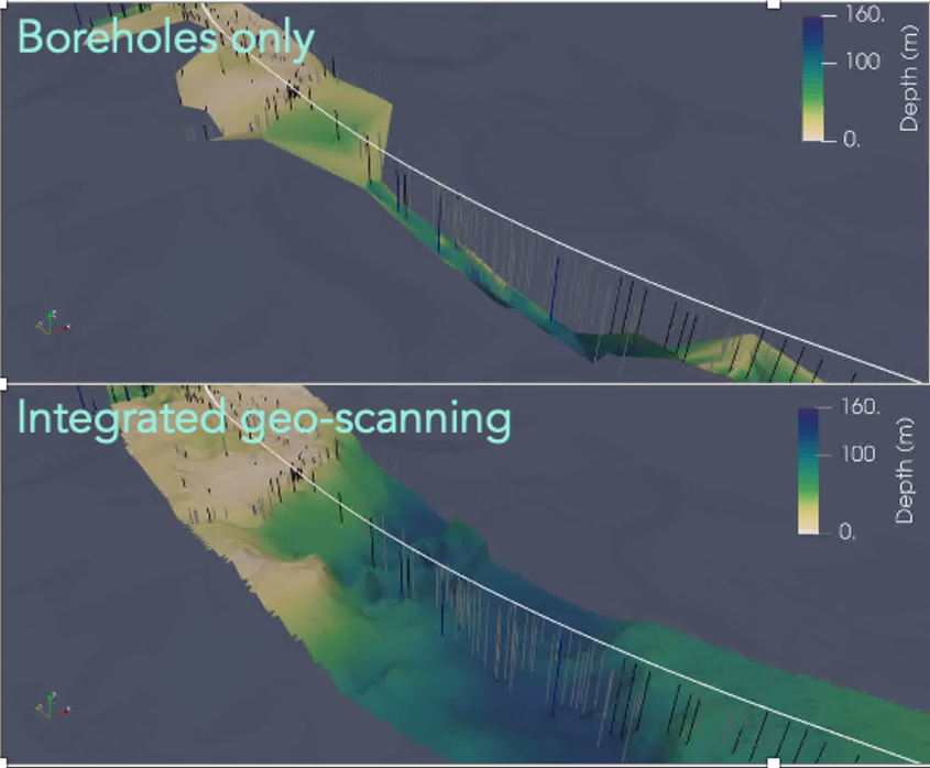 Case study: Using helicopter geo-scaning and advanced algorithms to get the full picture