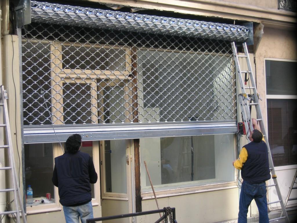 réparation rideau métallique paris et ile de france